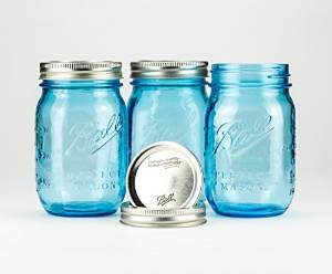 ball mason jar, blue, redneck, moonshiners, rednek